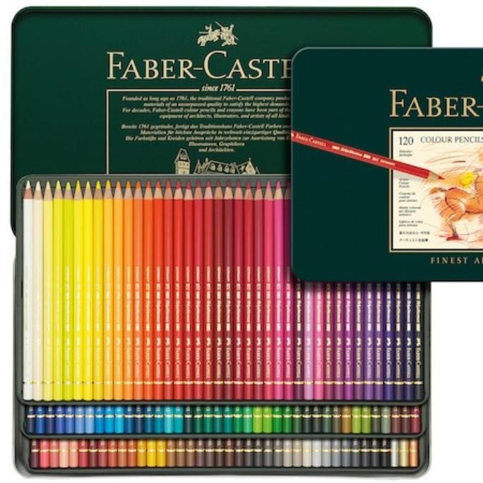 Faber Castell Polychromos tin of pencils