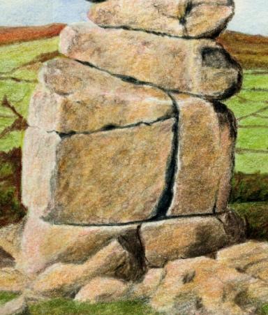 Close up of bowerman stone version 3
