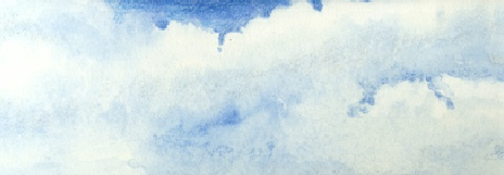 Watercolour pencil sky