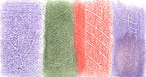 Solvent used to lift and blend colour pencil pigment