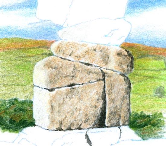 Bowerman stone surface 2