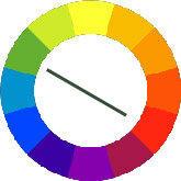 Simple colour wheel